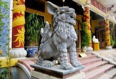 Qilin asian mythological statue Stock Photo