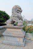 Qilin asian mythological statue Royalty Free Stock Image
