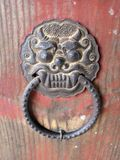 Qilin Door Knocker Stock Image