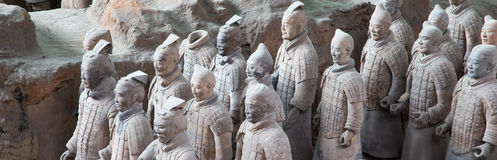 Qin-Dynastie-Terrakotta-Armee, Xian (Sian), China Stockfotos