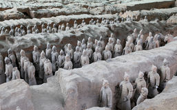 Qin-Dynastie-Terrakotta-Armee, Xian (Sian), China lizenzfreies stockbild