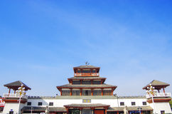 The qin dynasty palace Royalty Free Stock Photo