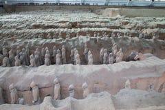 Qin dynasty Terracotta Army, Xian (Sian), China Stock Photos