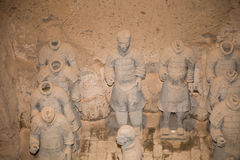 Qin dynasty Terracotta Army, Xian (Sian), China Stock Photo