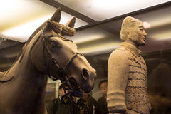 Qin dynasty Terracotta Army, Xian (Sian), China Stock Photography