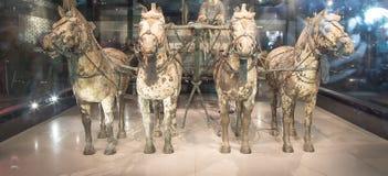 Qin dynasty Terracotta Army, Xian (Sian), China Stock Image