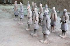 Qin dynasty Terracotta Army, Xian (Sian), China Stock Photography