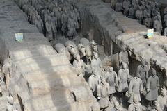 Qin Terracotta Warriors and Horses Stock Images