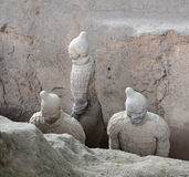 Qin Terracotta Warriors and Horses Stock Photography
