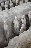 Qin Terracotta Warriors and Horses Royalty Free Stock Image