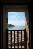 Qinbi Pirate House Door View Royalty Free Stock Image