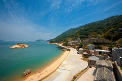 Qinbi Village Turtle Island Side Royalty Free Stock Images
