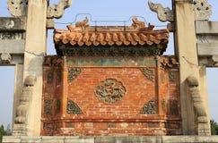 Qing dongling, дверь longfeng стоковая фотография rf