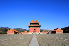Qing dongling, tomb of emperor kangxi Royalty Free Stock Image