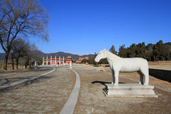 Qing dongling, tomb of emperor kangxi Stock Photography