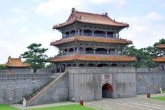Qing Dynastia Fuling Grobowiec, Shenyang, Chiny fotografia royalty free