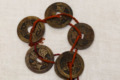 The Qing Dynasty coins Royalty Free Stock Images