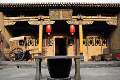 Qing dynasty house Pingyao Xian China Stock Photo