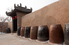 Qing dynasty house Pingyao Xian China Royalty Free Stock Images