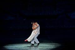 Qing Dynasty-Liebesgeschichte Stockfotografie