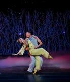 Qing Dynasty-Liebesgeschichte Stockbild