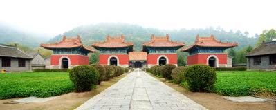 Qing Dynasty Pagoda entrance Stock Photography