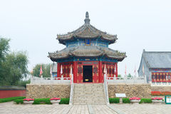 Qing Dynasty Pagoda temple Royalty Free Stock Photos