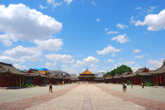 Qing Dynasty palace Stock Photos