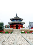 Qing Dynasty temple Royalty Free Stock Photography