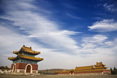 The qing east tombs Royalty Free Stock Photography