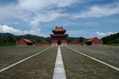 The Qing Eastern tombs. Of China Royalty Free Stock Images