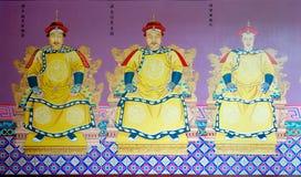 Qing emperor royalty free illustration