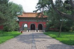 Qing Fu Tomb Royalty Free Stock Image