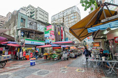 Qing Guang market located in Zhongshan District,Taiwan Stock Image