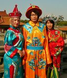 Qing Ming costumes Royalty Free Stock Image