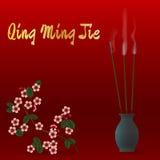 Qing Ming Jie Chinese Festival da luz pura Fotos de Stock Royalty Free