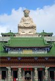The Qing Shui Temple in Southern Taiwan Stock Images