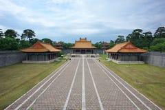 qing tomb för fu arkivfoto