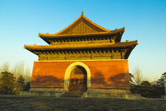 The  qing Tombs. The qing Tombs in Beijing,China Stock Image