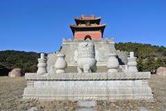 Qing Tombs oriental Imagens de Stock