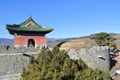 Qing Tombs oriental Fotografia de Stock