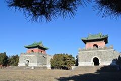 Qing Tombs oriental Fotografia de Stock Royalty Free