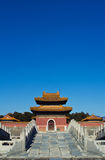 Qing xiling. Is the Qing Dynasty since the time of Yong Zheng emperors Mausoleum of four, a total of 14mausoleum, including Yong Zheng, Chang Ling, ray tailing Stock Photo