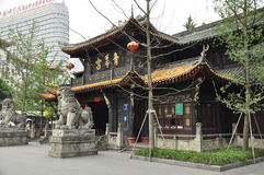 Qing Yang Gong Temple,Taoism Green Goat Palace in chengdu china Royalty Free Stock Images