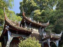 Qingcheng berg arkivbild