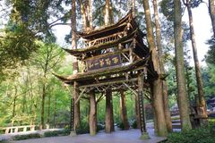 Qingcheng mountain stock images