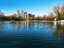 Hohhot Qingcheng Park royalty free stock photo