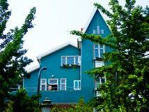 Qingdao οκτώ μεγάλο σπίτι περασμάτων Στοκ εικόνες με δικαίωμα ελεύθερης χρήσης