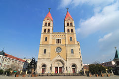 Qingdao Catholic Church Royalty Free Stock Photography