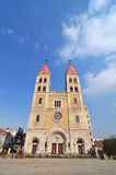 Qingdao Catholic Church Stock Photos